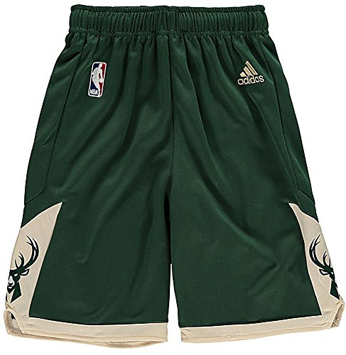 NBA adidas Milwaukee Bucks Youth Replica Shorts New for sale  Delivered anywhere in USA