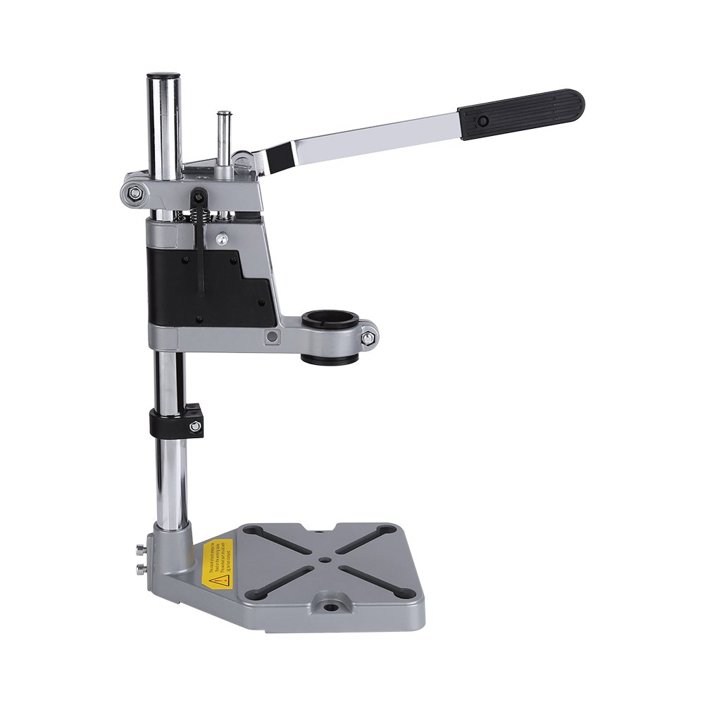 Bench Drill Press Stand, Mountable Power Drill Stand Tool Workbench Pillar Pedestal Clamp WR-001