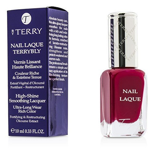 (By Terry Nail Laque Terrybly High Shine Smoothing Lacquer - # 3 Famous Fuchsia 10ml by By Terry)