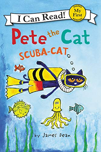 Pete the Cat: Scuba-Cat (My First I Can Read) -