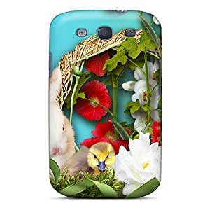 IcXrP782itMJn Fuzzy Friends Spring Fashion Tpu S3 Case Cover For Galaxy