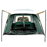 Fashine-8-10-Person-Waterproof-Family-Camping-Tent-2-Bedroom-1-Living-Room-Dual-Layer-210D-Oxford-Cloth-Windproof-Hiking-Tent-with-Rainfly-Shelter-Carrying-Bag