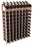 Wine Racks America Redwood 8 Column 10 Row Display Top Kit. Satin Finish Review