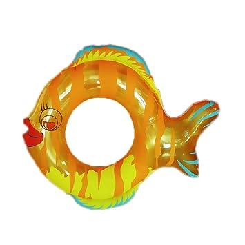 Sucastle Hinchable colchonetas Piscina Flotador Forma de Pescado para Piscina Juguete Veraniego Inflable Juguete para Fiestas Playa de Piscina con para ...