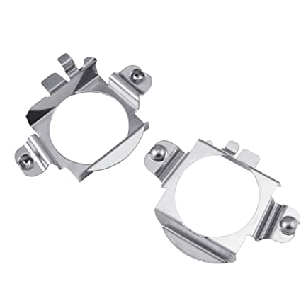 Ansblue H7 LED Headlight Bulb Adapter Holder Compatible with Mercedes-Benz  C300 C350 Sport CLS GL Ford Edge Installation - 2PCS
