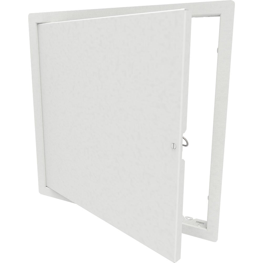 Babcock-Davis 16'' x 16'' Architectural Access Door, White, Flush Mount, Cam Latch