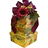 Art of Appreciation Gift Baskets Fruitful Harvest Gourmet Snacks and Treats Tower