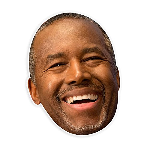 Unwelcome Greetings Happy Ben Carson Mask - Perfect for Halloween, Masquerade, Parties, Events, Festivals, Concerts - Jumbo Size (Happy Halloween Greetings)
