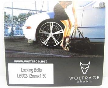 Butzi Chrome Plated Anti Theft Locking Wheel Nut Bolts /& 2 Keys to fit BMW Z3