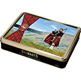 400g Shortbread Tartan Collection - The Lone Piper
