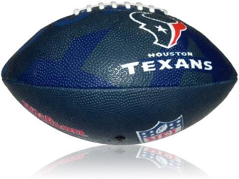 Wilson Football NFL Junior Houston Texans Logo - Balón de fútbol ...