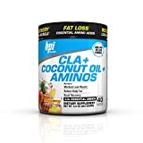 Coconut Oil to Lose Weight BPI Sports Cla + Coconut Oil + Aminos, Non Stimulant Fat Loss Supplement Powder, Tropical Breeze, 9.8 Ounce