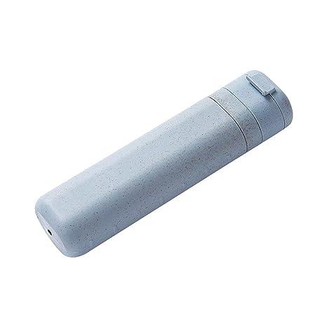 Shuda 1Pcs Caja de Almacenamiento de Cepillo de Dientes Escalada Cepillo de Dientes Caja Portatil Cubiertos