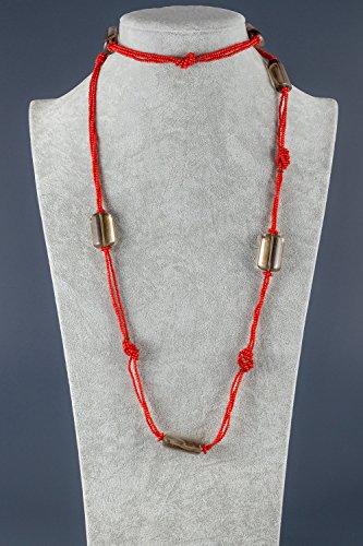 DESIDERIA-Collier de corail, quartz fumeì et hématite