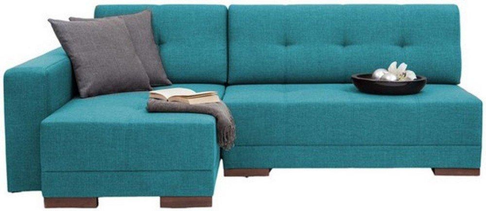 FabHomeDecor Apollo Four Seater L Shaped Sofa (Blue): Amazon.in: Home U0026  Kitchen