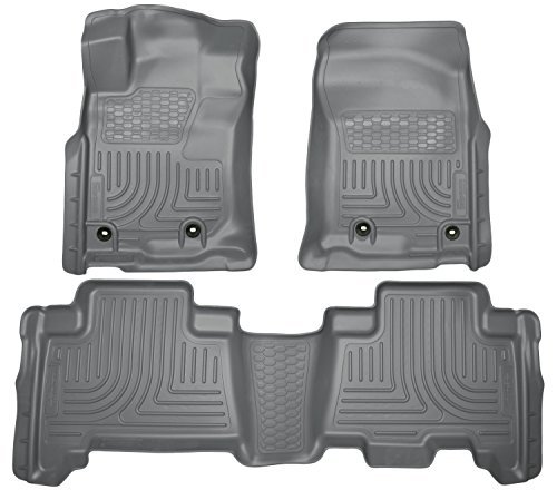 (Husky Liners 99572 WeatherBeater Grey Front and 2nd Seat Floor Liner by Husky Liners)