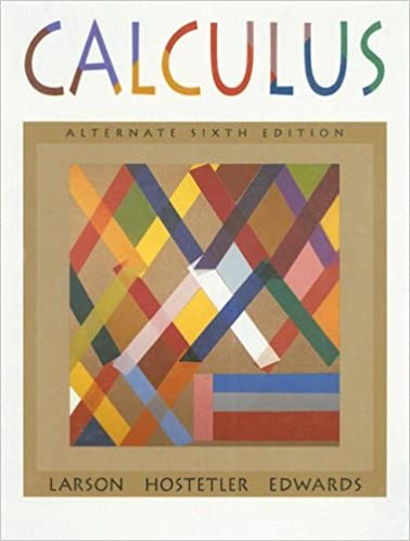 Calculus With Analytic Geometry Alternate Ron Larson