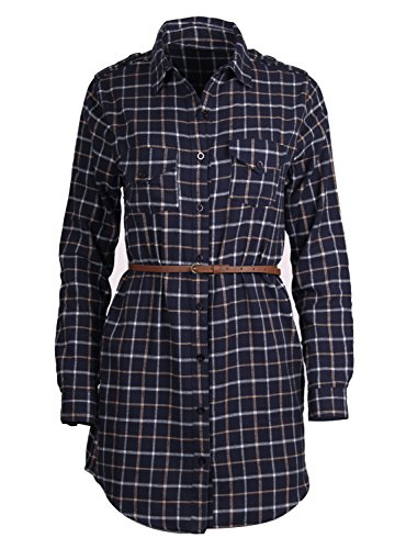 Styleyet Women Checker Button Flannel