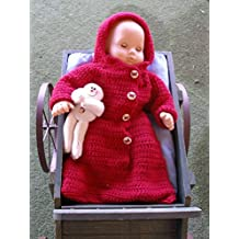 Warm and Cozy Sleeper: For American Girl Bitty Baby doll