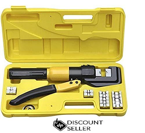 Alicates de crimpado y cable de 4 a 70 mm 8T, herramienta de corte de crimpadora eléctrica: Amazon.es: Bricolaje y herramientas