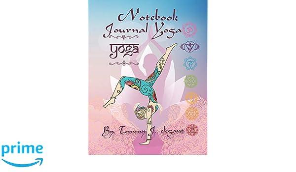 Amazon.com: Notebook Journal Yoga: Yoga Lined Notebook ...