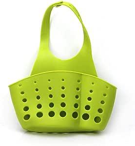 حقيبة صرف المياه المحمولة في المطبخ تعلق حقيبة أدوات تخزين الحمام حامل الحوض