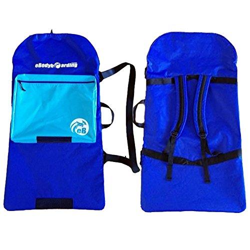- eBodyboarding.com Kids Sack - Blue, Light Blue Pocket