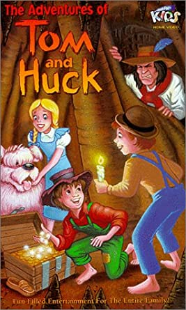Amazon Com Adventures Of Tom And Huck Vhs Jonathan Taylor Thomas Brad Renfro Charles Rocket Eric Schweig Amy Wright Michael Mcshane Marian Seldes Rachael Leigh Cook Lanny Flaherty Courtland Mead Peter Mackenzie Heath Tom becomes friends with huckleberry finn, a boy with no future and no family. adventures of tom and huck vhs