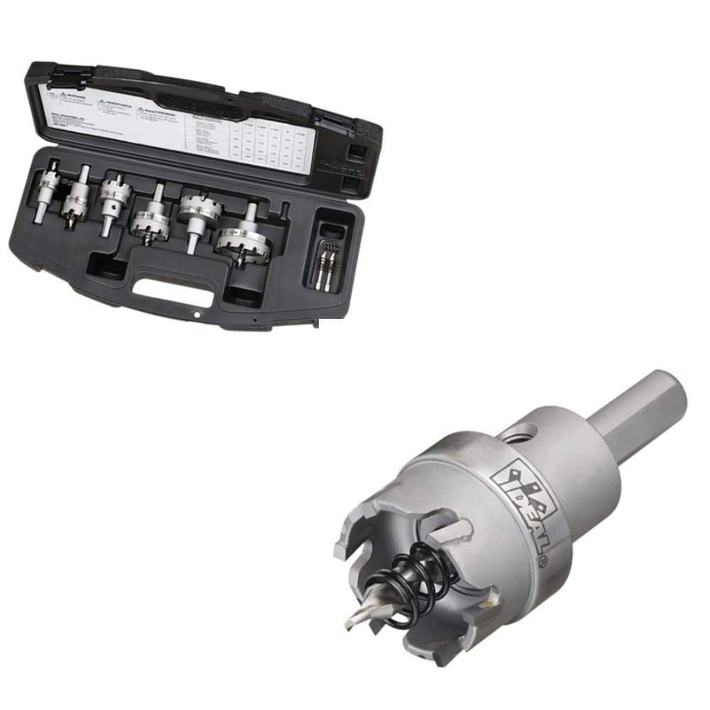 Ideal 36-314 TKO Carbide Tipped Hole Cutter 6 Piece Kit