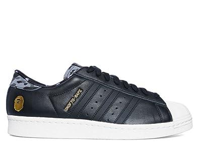 Homme Adidas Superstar 80v UNDFTD X BAPE Chaussures de