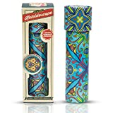 Kids Kaleidoscope Kit Toy Tube - Tin Kaleidoscope Tube with Light Prism Lens Creates Countless Lightshows Mosiacs - Mini Gift for Children - by Perfect Life Ideas. COLORS WILL VARY.