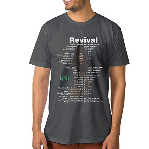 Boxer98 Men's Customize T-shirt American Singer Revival 3X DeepHeather