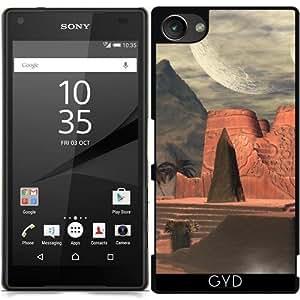 Funda para Sony Xperia Z5 Compact - Templo Impresionante En La Puesta De Sol by nicky2342