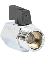 Variosan Mini–Válvula de bola, Ig X Ag, cromo