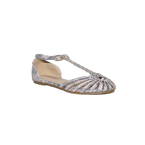 0139d7530 BUBBLE BOBBLE Bubble Sandalia CANGREJERA A1063-S Sandalias Cangrejeras Niña  Moda Verano 2018 Plateado Rosa Plateado Rosa  Amazon.es  Zapatos y  complementos