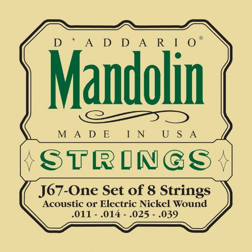 Used, D'Addario J67 Nickel Mandolin Strings for sale  Delivered anywhere in USA