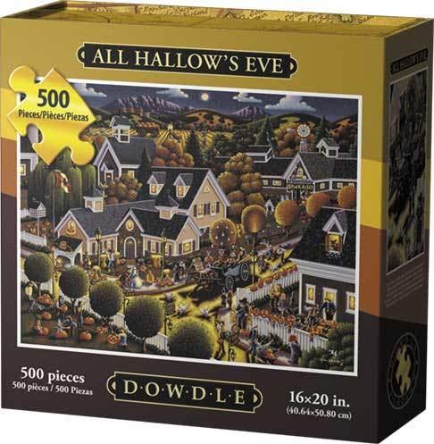 Dowdle Jigsaw Puzzle - All Hallow's Eve - 500 Piece