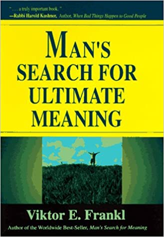 Buy Man's Search For Ultimate Meaning Book Online at Low