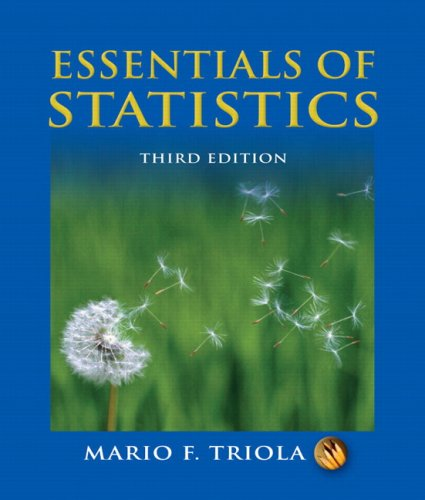 Essentials of Statistics Value Package (includes MathXL 12-month Student Access Kit)