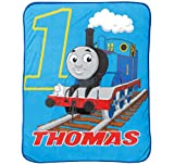 Thomas the Tank Engine Go Go 46'' x 60'' Plush Fleece Throw Blanket