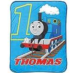 Thomas the Tank Engine Go Go 46' x 60' Plush Fleece Throw Blanket
