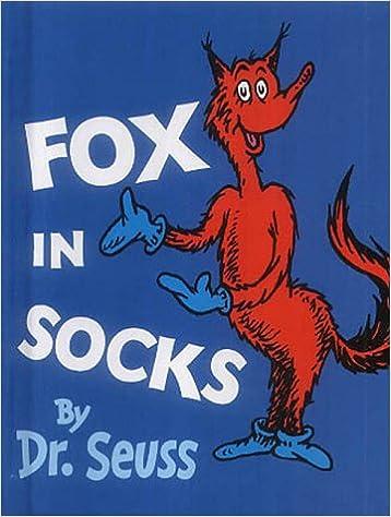 Elektronische E-Books herunterladen Fox in Socks: Miniature Edition (Dr Seuss Miniature Edition) by Dr. Seuss PDF