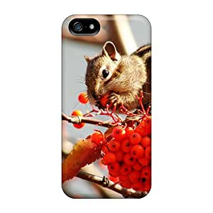 Top Quality Case Cover For Iphone 5/5s Case With Nice That Hunger Squirrel Appearance