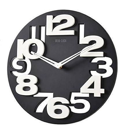 3 D Design orologio da parete moderno 8808 da cucina Baduhr office ...