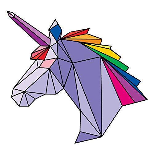 unicorn window decal - 8
