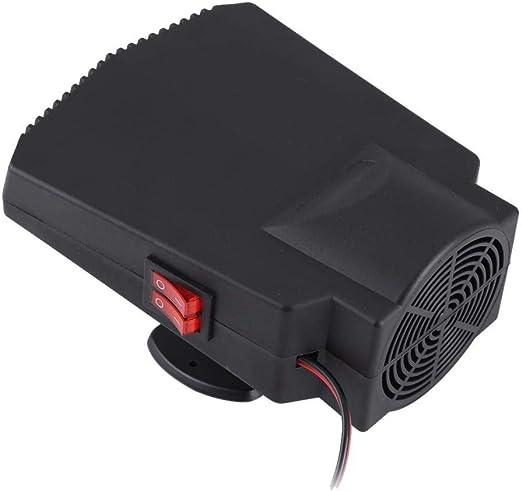 Calefactor de coche, 12 V descongelador de parabrisas ...
