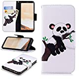 Galaxy Note 8 Wallet Case,PU Leather Cover for Samsung Note 8,Leecase Retro Cool Pretty Tree Panda Pattern Design Flip Stand Phone Case Cover Wallet Handset Shell Bookstyle Cellphone Skin Pouch with Magnetic Closure Card Slots Folio Protective Pocket Bumper Cover Skin for Samsung Galaxy Note 8 + 1x Black Stylus