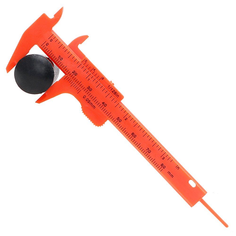 Calibrador vernier de pl/ástico de 80/mm