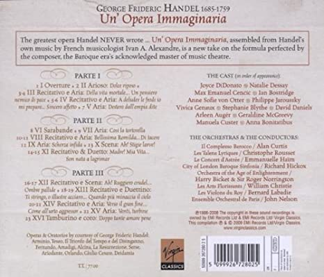 Handel Joyce Didonato Philippe Jaroussky Natalie Dessay David