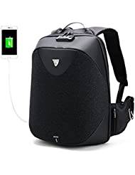 HKBUYEASY Business Laptop Backpack, Anti Theft Waterproof Travel Backpack with Lock, Slim College School Computer...